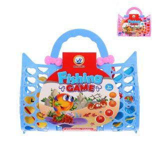 Набор Рыбалка 4 фигурки +удочка, в сумочке