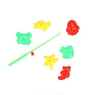 Набор Рыбалка магн.удочка + 6 фигурками