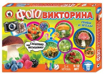 НИ Фотовикторина Грибы и ягоды