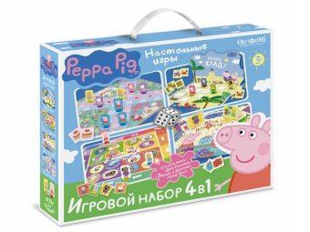 Игровой набор Peppa Pig  4в1
