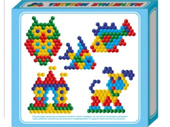 мозаика магнитная шестигранная 20/5цв/ 175шт