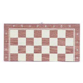 НИ Шахматы в дер кор размер поля 24х24см.