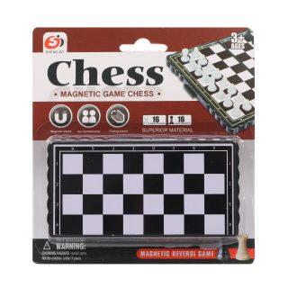 Шахматы магнитные, поле 13.8*13.2 см, блистер