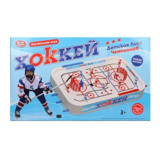 НИ Хоккей, поле 51*33.5см, в наборе 38 предметов, кор.