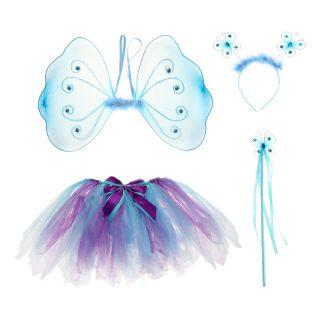 """Костюм """"Фея"""", крылья, юбка, ободок, палочка, голуб"""