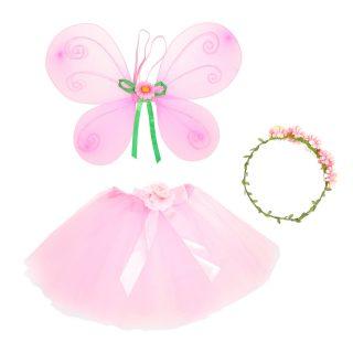 """Костюм """"Фея"""", крылья, юбка, ободок, роз."""