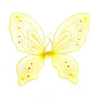 """Приставные крылья """"Бабочка"""", желт."""