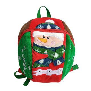 Рюкзачок Снеговик 27*26 см, пакет