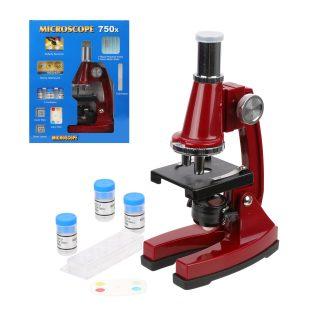 Набор Первые открытия, микроскоп, аксесс., 27 предм., пласт., цвет в ассорт.