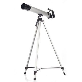 Набор Юный астроном, алюм., телескоп, серебрист.