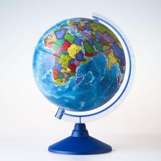 Глобус Земли политический, D-250 мм