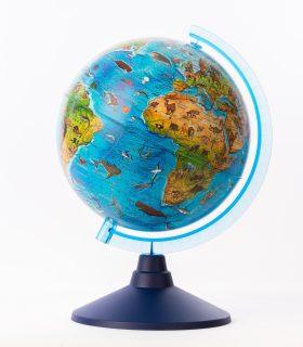 Глобус Зоогеографический (Детский), D-210 мм
