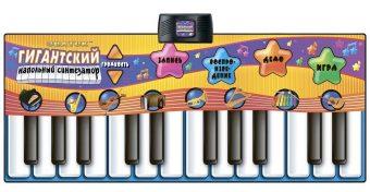 Коврик  звук. Гигантский синтезатор