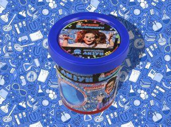 Набор Юный Химик Светящийся лизун Призрачно-Голубой