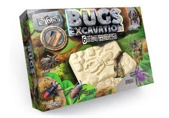 Набор для проведения раскопок Bugs Excavation Насекомые