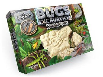 Набор для проведения раскопок Bugs Excavation Насекомые (богомол, скорпион, жуки)