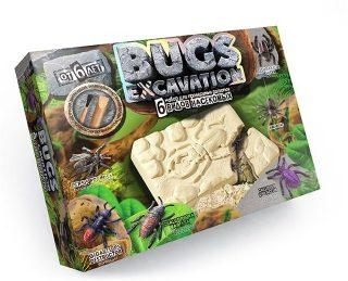 Набор для проведения раскопок Bugs Excavation Насекомые (жуки и пауки)