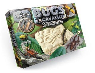 Набор для проведения раскопок Bugs Excavation Насекомые (жуки и стрекоза)