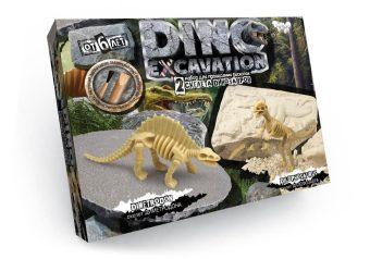 Набор для проведения раскопок Dino Excavation Динозавры (Диметродон и Дилофозавр)