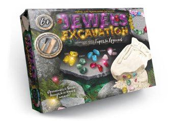 Набор для проведения раскопок Jewerly Excavation Горный хрусталь