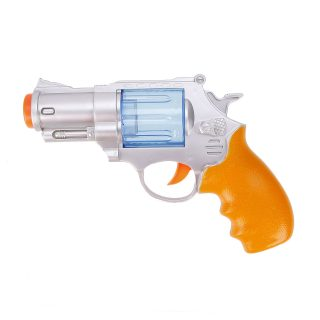 Револьвер эл., свет, звук, в ассортименте, эл.пит 2*АА не вх.в комплект, пакет