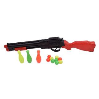 Игр.набор Охотник, в комплекте ружье, шары 9шт, мишень 3шт.