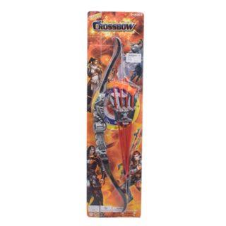 Игр.набор Стрелок, в комплекте лук, стрелы 4шт., держатель для стрел