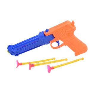 Пистолет, в комплекте стрелы с присосками 3шт.