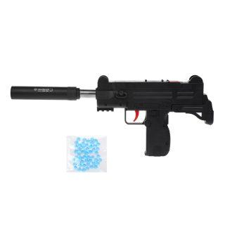 Автомат мех., в комплекте: гелевые пули пакет 1шт., глушитель, пакет