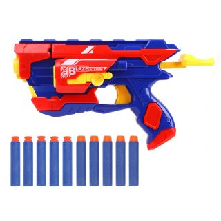 Бластер с мягкими пулями, 10 м/пуль