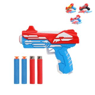 Пистолет, м/пули 4шт., пакет