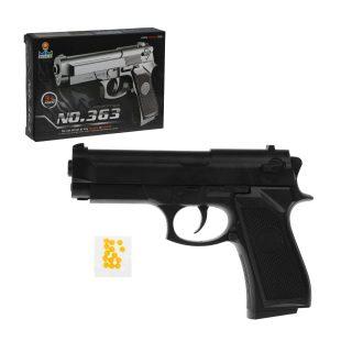 Пистолет мех., в комплекте: пули 10шт., коробка
