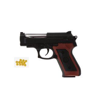 Пистолет мех., в комплекте: пули 10шт., пакет