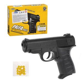 Пистолет мех., в комплекте: пули 12шт., коробка