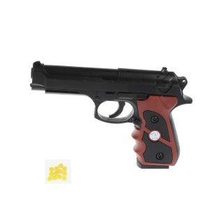 Пистолет мех., в комплекте: пули 12шт., пакет