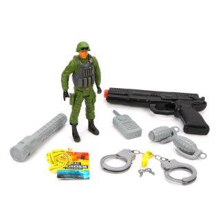 Игр.набор Военный, пакет
