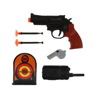 Игр.набор Полиция, в комплекте: предметов 7шт., пакет