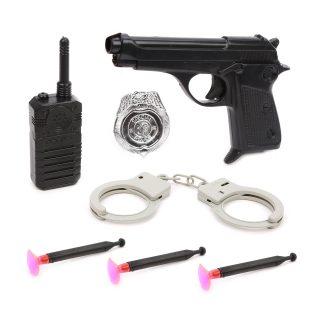 Игр.набор Полиция, предметов 7шт., пакет