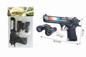 Игр.набор Полиция, свет, звук, в комплекте: предметов 2шт., эл.пит.АА*2шт.не вх.в комплект