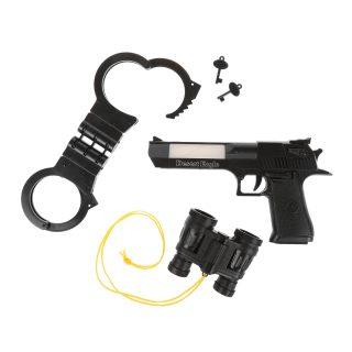 Игр.набор Полиция, свет, звук, в комплекте: предметов 4шт., эл.пит.АА*2шт.не вх.в комплект
