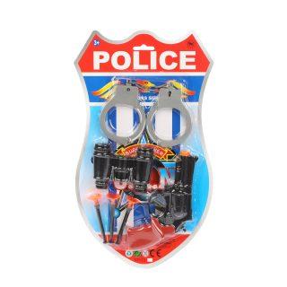 Набор оружия Полицейский, в комплекте предметов 6шт., в ассортименте