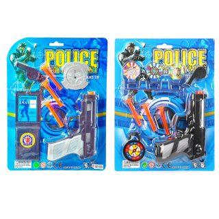 Набор оружия Полицейский, в комплекте предметов 7шт., в ассорт., блистер