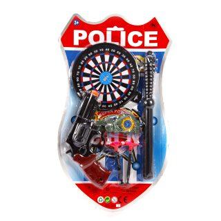 Набор оружия Полицейский, в комплекте: предметов 6шт., в ассортименте