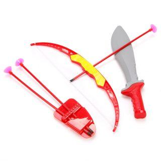 Игр. набор Лучник, лук, стрелы, нож, пакет