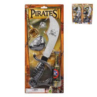 Игр.набор Пираты, в комплекте 5 предметов, блистер
