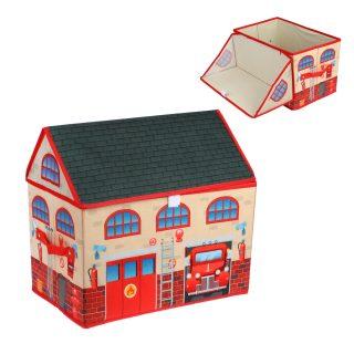Корзина для игрушек Пожарная, 40*25*37см, пакет