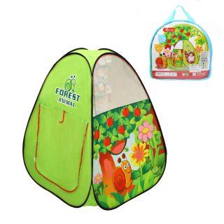 Палатка игровая Веселая улитка, сумка на молнии