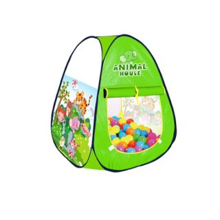 Палатка игровая Волшебный сад, сумка на молнии