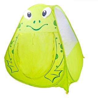 Палатка игровая Лягушонок 100*100*98см, сумка