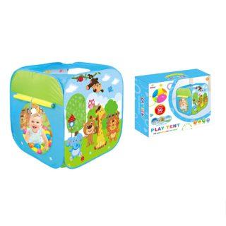 Палатка игровая, в комплекте пластмассовые шарики 50 шт., размер 79*74*74 см, коробка